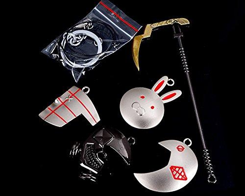 Mxnpolar Tokyo Ghoul Necklace Pendant Full Set of 5 Pcs Cosplay