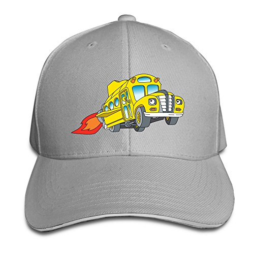 the-magic-school-bus-unisex-100-cotton-adjustable-baseball-hat-ash-one-size