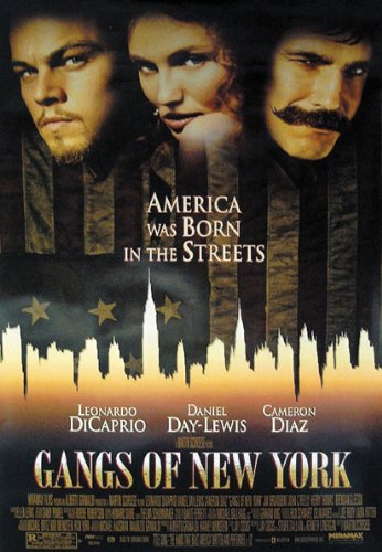 Gangs Of New York - Movie Poster