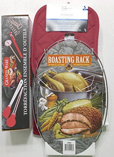 granite ware roaster rack - 5