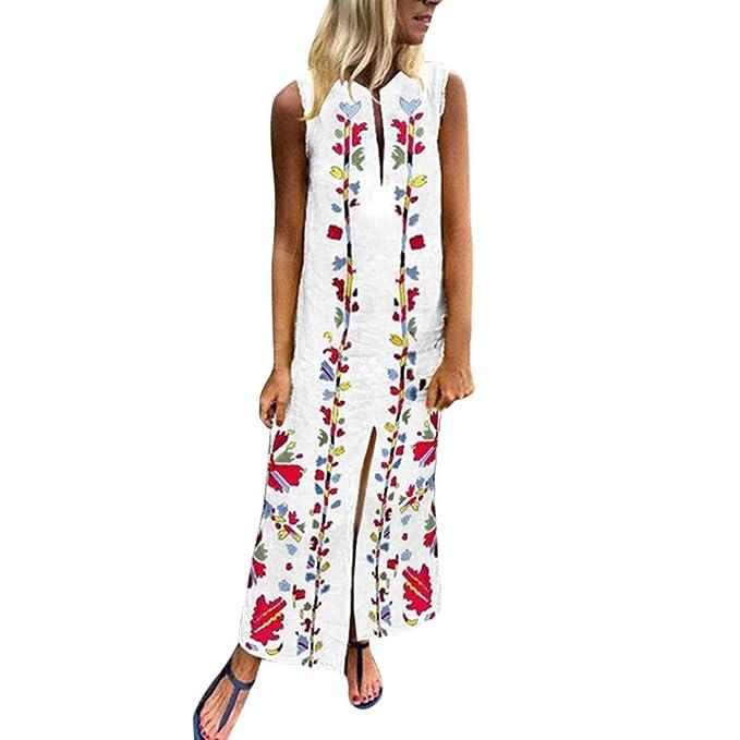 Largos Verano Casual Elegantes 2019Paolian Mujer Vestidos XZkuPi