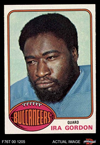 1976 Topps # 64 Ira Gordon Tampa Bay Buccaneers (Football Card) Dean's Cards 8 - NM/MT (1976 Tampa Bay Buccaneers)