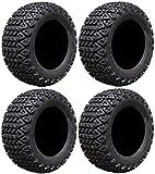 Full set of Arisun X-Trail AT06 22x11-10 (4ply) Golf Cart Tires (4)