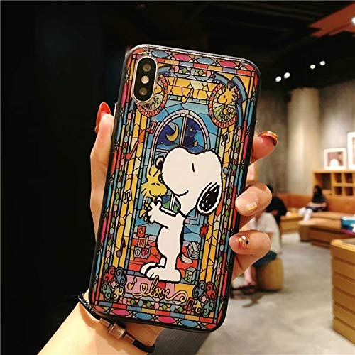 Amazon.com: Cartoon Princess Snoopys Phone Case for iPhone 8 ...