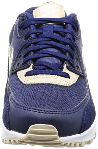 Nike Silver Scarpe Mtlc Binary Donna Max Ginnastica Oatmeal da Blue Blu 90 White Air fwWqfZOrF