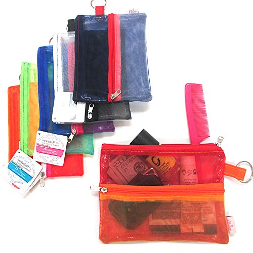 Zipper Wallet Cosmetic Organizer Storage