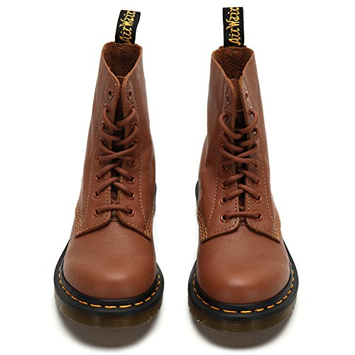 Dr. Martens Womens Pascal 8-eye-lace-up Boots 21419220 Tan, Uk 3 / Us Mens 4 Womens 5 / Eu 36