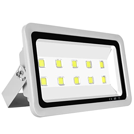 Amazon morsen super bright led flood light 500w 50000lm for morsen super bright led flood light 500w 50000lm for indoor outdoor lighting fixture daylight white 6000k aloadofball Image collections