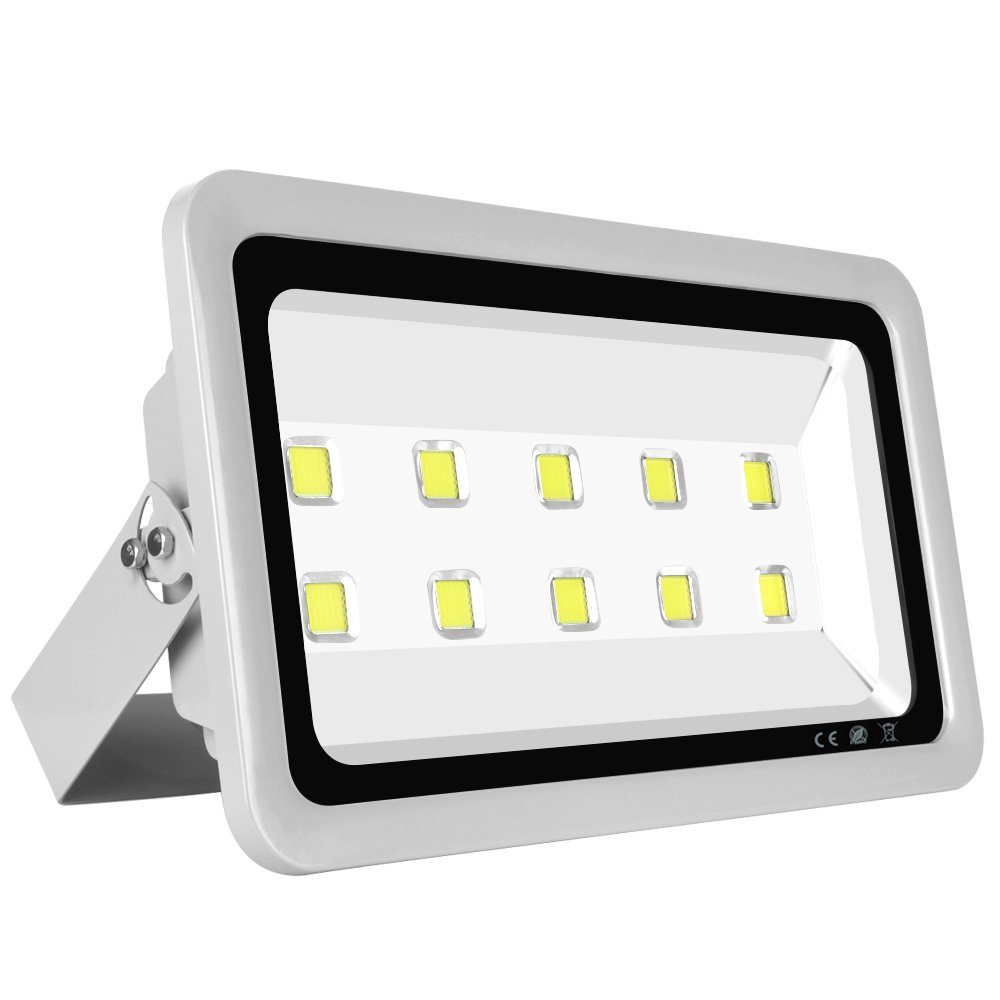 Morsen Super Bright LED Flood Light 500W 50000LM For Indoor Outdoor Lighting Fixture Daylight White 6000K
