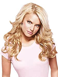 "23"" Wavy Clip-In Hair Extensions by Jessica Simpson hairdo - R4"