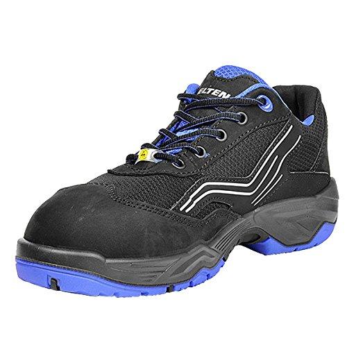 - Elten Ambition Blue Low Esd S1, Zapatos de Seguridad Unisex adulto, Azul (Blau 4), 39 EU 39 EU