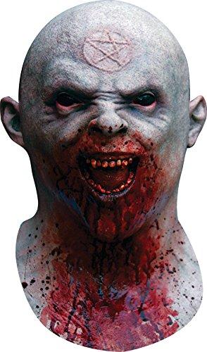 Alien Walker Halloween Costume (Night Walker Pentagram Scar Bloody Zombie Latex Adult Halloween Costume)
