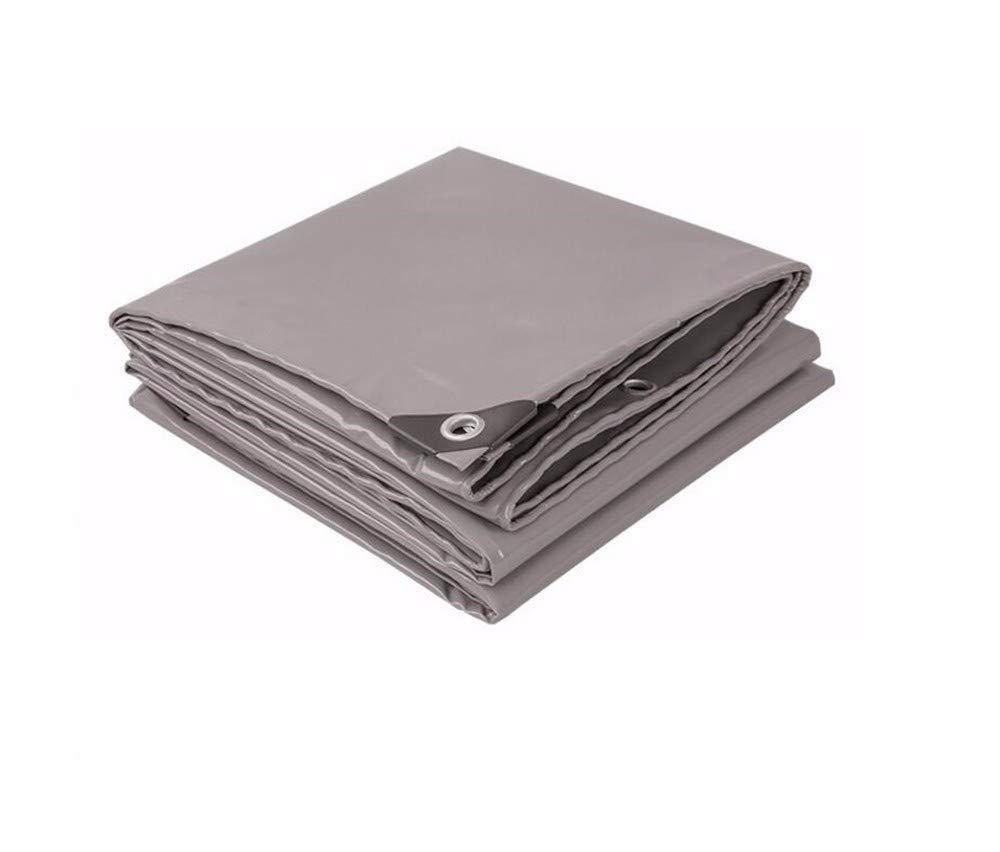 GTREW-tarpaulin Tuch Grau Verdickte Wasserdichte Canvas Regensichere Sonnenschutzmesser Schrotthall,