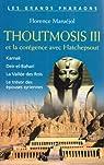 Thoutmosis III et la corégence avec Hatchepsout par Maruéjol
