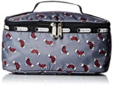 LeSportsac Large Rectangular Train Case Top Handle Bag, Terrier Toss, One Size