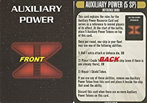 Star Trek Attack Wing Klingon Civil War Storyline Op Kit 2 Auxiliary Power Card