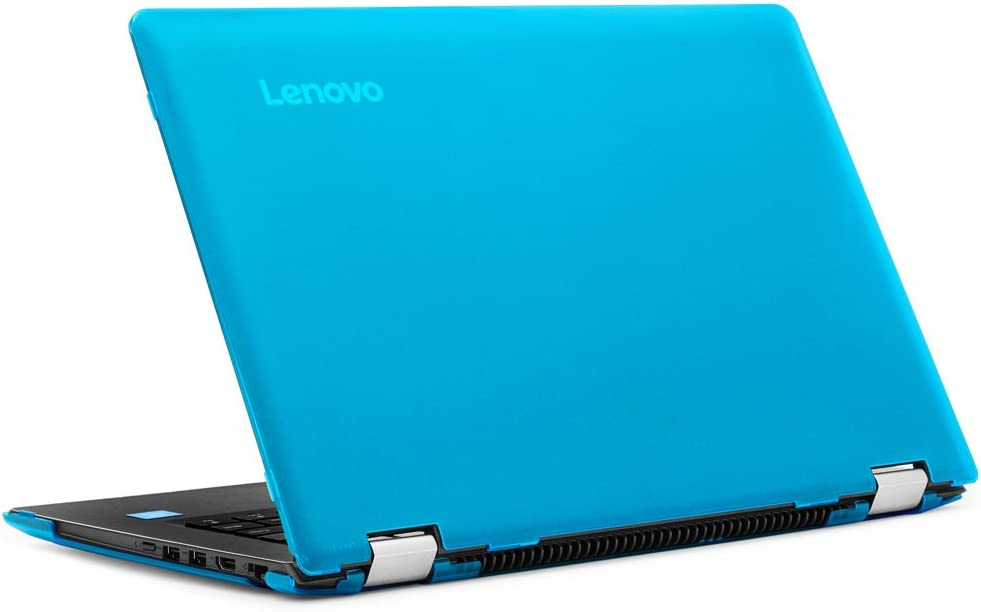 "mCover Hard Shell Case for New 14"" Lenovo Ideapad Flex 4 14 (4-1470/4-1435/4-1480, NOT Compatible with Newer Flex 5/6 Series) Laptop Computers (Aqua)"
