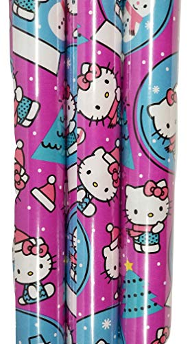 Hello Kitty Holiday Theme Gift Wrapping Paper 20 sq ft.(1 Roll)