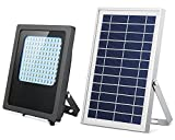 Solar Lights Outdoor 120LED Solar Flood Light Weatherproof...