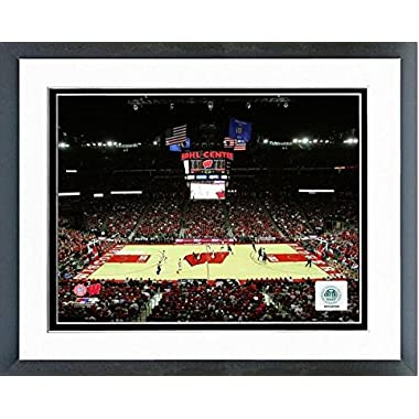 Wisconsin Badgers Kohl Center NCAA Basketball Photo (Size: 12.5  x 15.5 ) Framed
