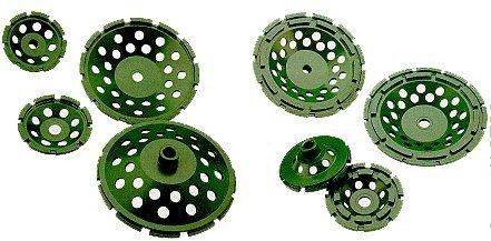 "UPC 609940050405, Longer Diamond Grinding Cup Wheels [Heavy Duty Professional]-Size: 4"", Single, Arbor 5/8""-11 Thread"