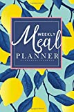 Weekly Meal Planner: Breakfast lunch dinner meal