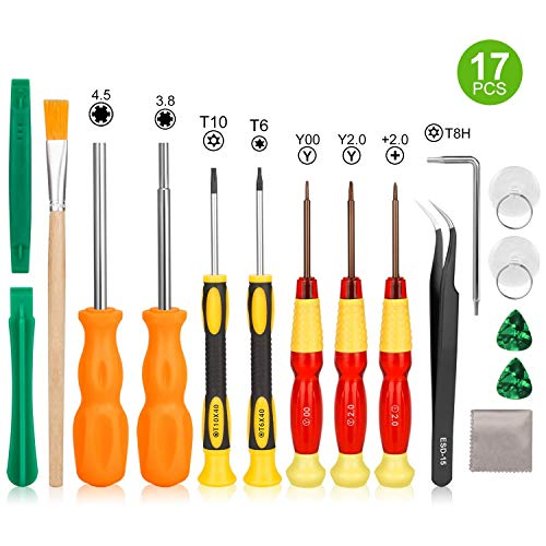 Nintendo Screwdriver Set-Younik Triwing Screwdriver for Nintendo 17 in 1 Professional Screwdriver Game Repair Tools Kit for Nintendo Switch/Nintendo Switch Lite/JoyCon/DS /DS Lite /Wii /GBA from Younik