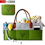 CalmDeeR, Baby Diaper Caddy | Nursery Diaper Tote Bag...