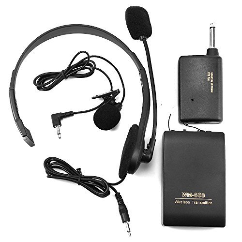 Chunnuan Handsfree Microphone Head worn Transmitter
