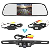 Best Backup Camera For Car SUVs - ZSMJ Backup Camera Wireless 5 inch Mirror Monitor Review