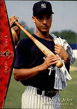 Amazoncom 1995 Sp Baseball Card 181 Derek Jeter Near Mint