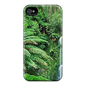 Top Quality Rugged Beauchamp Falls Case Cover For Iphone 4/4s