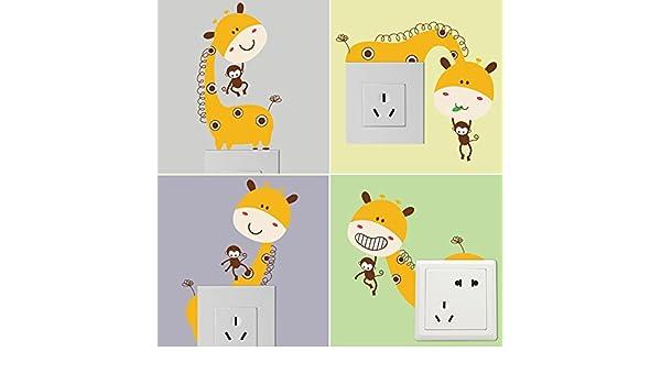 Hongrun Cartoon habitación Niños dormitorio salida vivero ...