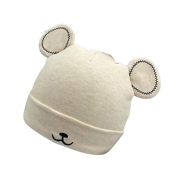 Sombrero del Bebé del Sombrero Caliente del Bebé ReciéN Nacido AIMEE7 Sombrero Caliente del Gorro del Sombrero De La NiñA PequeñA del Bebé Gorro Lindo ...