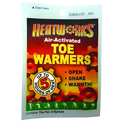Heatworks Hw4 Air Activate Toe Warmers  Case Of 288 Packs