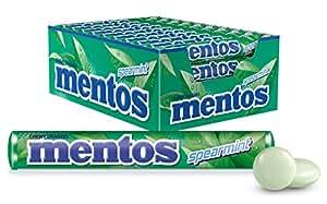 Mentos Spearmint Candy Roll, 40 Rolls x 37.5 g