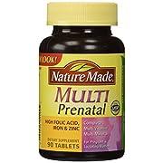 Multi Prenatal, Complete Multi Vitamin/Mineral, 90 Tablets by Nature Made