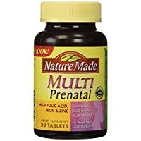 Multi Prenatal, Complete Multi Vitamin/Mineral, 90 Tablets by Nature Made