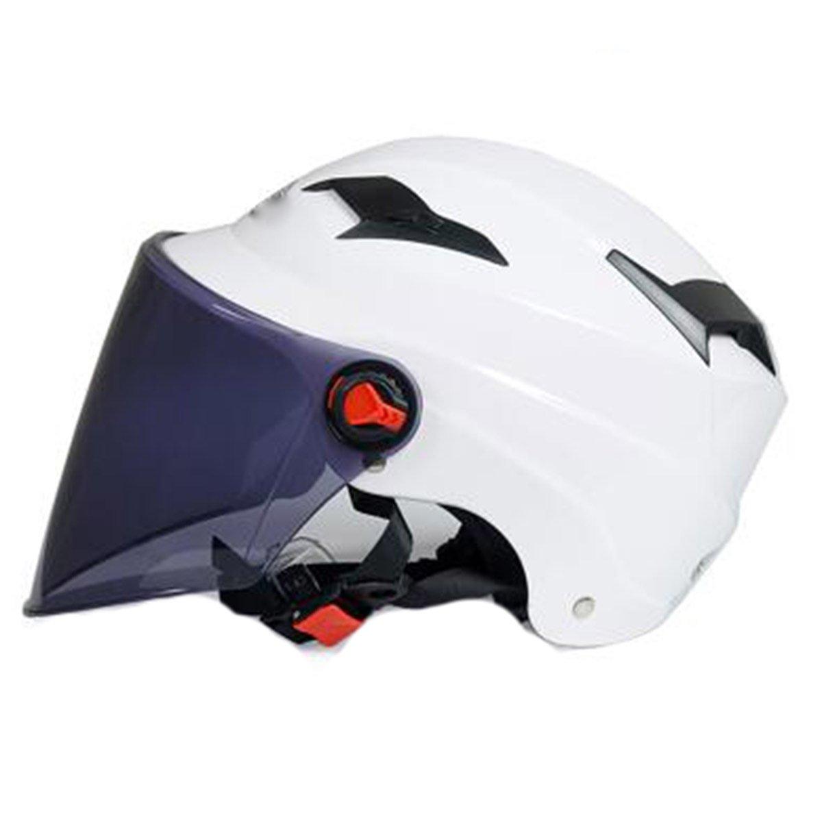 TZQ Geöffnete Männer Helm Schutzbrillen Halb Offen Motorrad Helm Lady Maske Helm