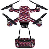 Skin for DJI Spark Mini Drone Combo - Saltwater Collage| MightySkins Protective, Durable, and Unique Vinyl Decal wrap cover | Easy To Apply, Remove, and Change Styles | Made in the USA