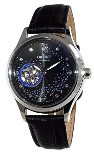 - ORIENT Fashionable Automatic 'Blue Moon' Open Heart Watch RA-AG0019B