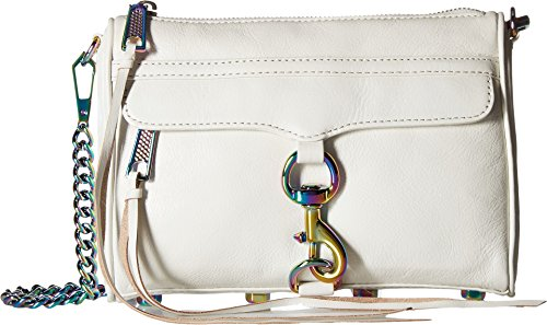 Rebecca Minkoff Women's Mini Mac Bianco One Size (Minkoff Mac Rebecca Mini)