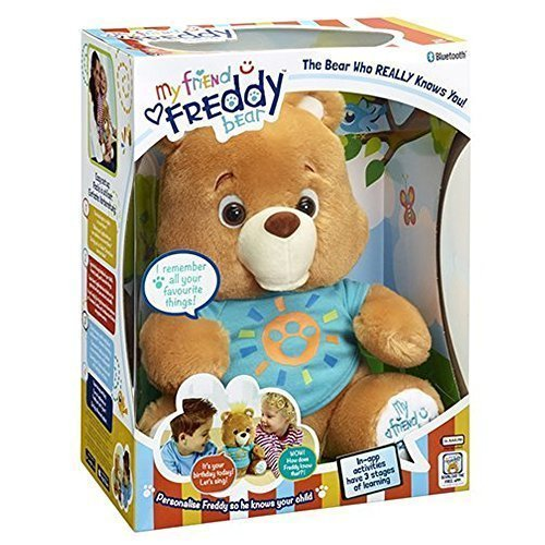My Friend Freddy Teddy Bear Soft Plush Toy by Vivid