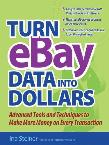 Download Turn eBay Data into Dollars Pdf