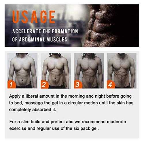 Hot Cream 2Pcs,Anti Cellulite Cream, Fat Burning Cream - Natural Body Slimming Cream for Abdominal, Arms and Thighs. 5