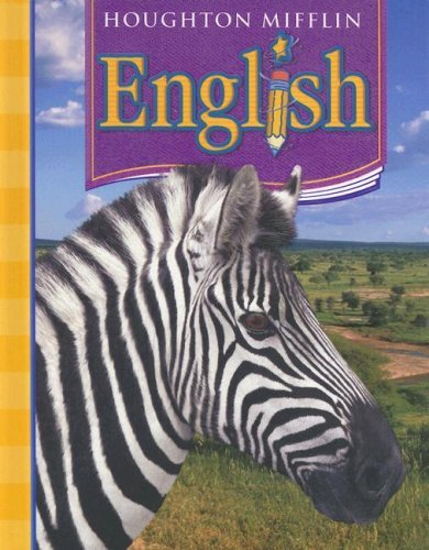 By Houghton Mifflin Harcourt - Houghton Mifflin English: Student Edition Non-Consumable Level 5 2006