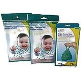 Disposable Baby Bibs & Diaper Disposal Bags Bundle