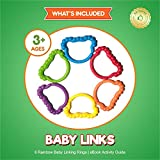 Baby Rings & Baby Links Toddler Toys - Rainbow