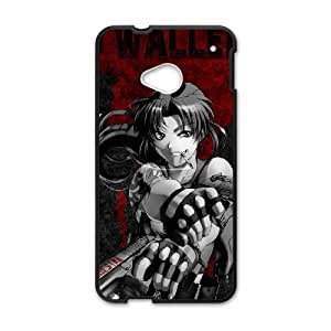 Black Lagoon HTC One M7 Cell Phone Case Black gift pjz003-9428136