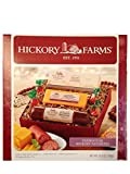 Hickory Farms Holiday Gift Set-Farmhouse Hickory Favorites Summer Sausage, Golden Toasted Crackers, and Smooth and Sharp Cheese Set 11 oz (312g)
